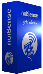 nuiSense multi touch suite gold